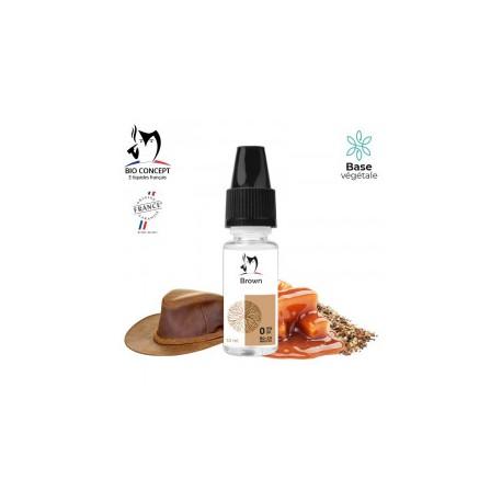 E-LIQUIDE TABAC BROWN PAR BIO CONCEPT
