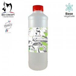 BASE 80% PG / 20% VG 500ml