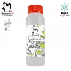 BASE 80% PG / 20% VG 140ml